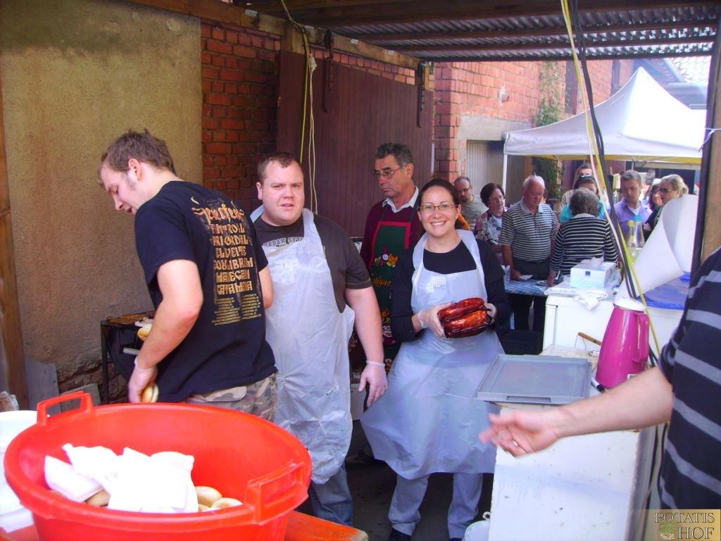 Kartoffelfest 2010 auf dem Potatis Hof Elfershausen