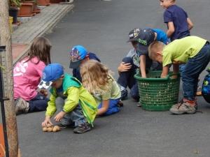Kartoffelturmwettbauen