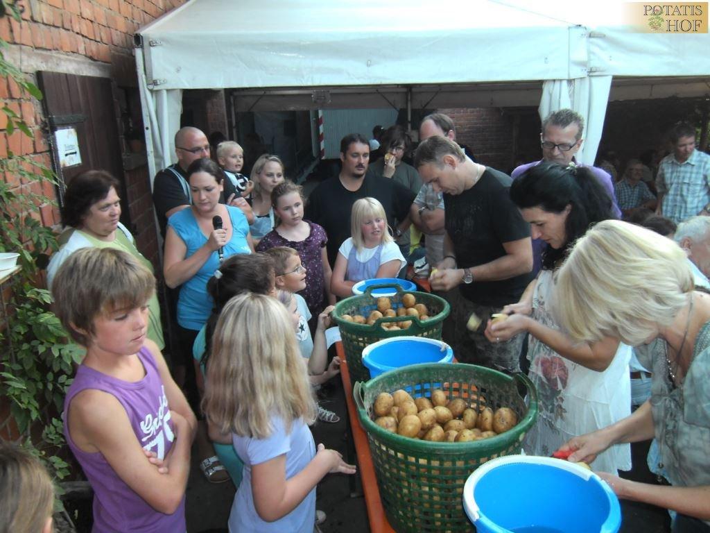 Kartoffelfest 2011 auf dem Potatis-Hof Elfershausen