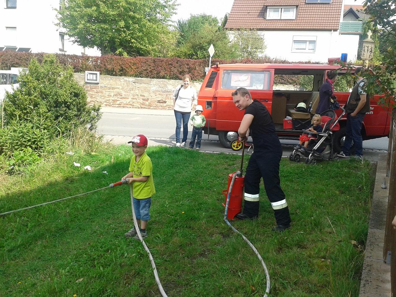 Kinderprogramm der FF Elfershausen