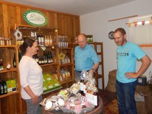 Michael Geier zu Besuch auf dem Potatis Hof
